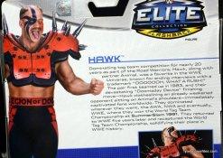 Mattel WWE Elite 30 Legion of Doom - Hawk card bio