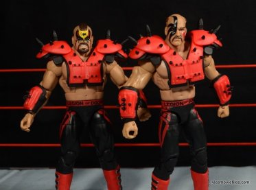 Mattel WWE Elite 30 Legion of Doom - with red pads