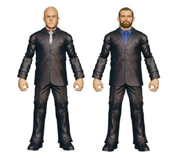 Mattel WWE SDCC reveals - J and J Security