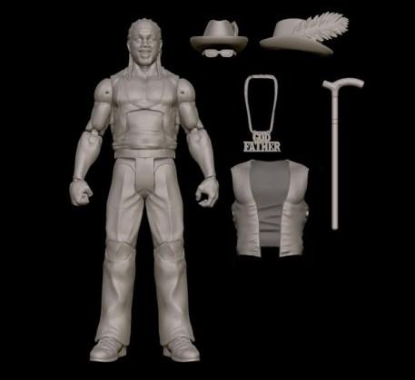 Mattel WWE SDCC reveals - The Godfather