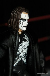 Sting figure WWE Mattel Defining Moments - right side close up