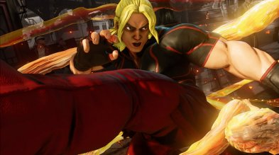 Street Fighter V - Ken close up
