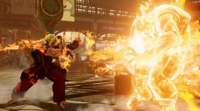Street Fighter V - Ken fireball