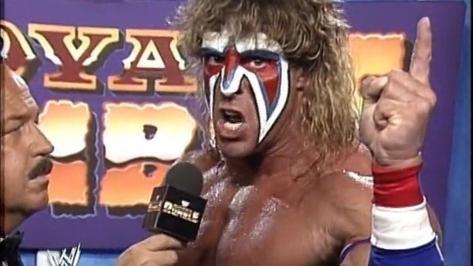 Ultimate Warrior Royal Rumble 1991
