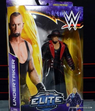 Wrestlemania 30 Undertaker Mattel - front package