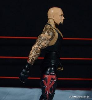 Wrestlemania 30 Undertaker Mattel -right side detail