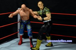 Sgt. Slaughter WWE Hall of Fame figure - Irish whip Iron Sheil