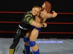 Sgt. Slaughter WWE Hall of Fame figure - bear hug Hacksaw Duggan
