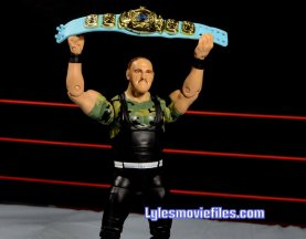 Sgt. Slaughter WWE Hall of Fame figure - raising world title