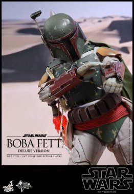Boba Fett Hot Toys figure -close up aiming