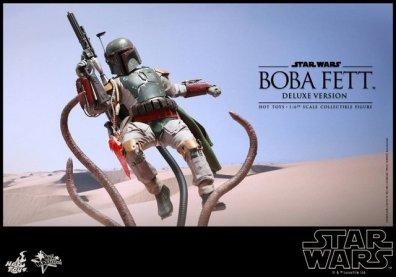 Boba Fett Hot Toys figure -main Sarlaac fight