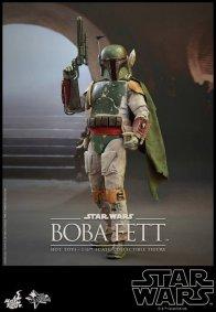 Boba Fett Hot Toys figure -profile Jabba
