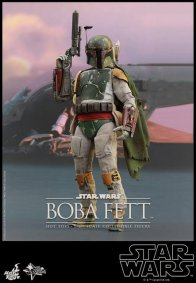 Boba Fett Hot Toys figure -profile shot