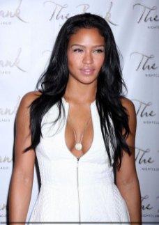 Cassie hot white top