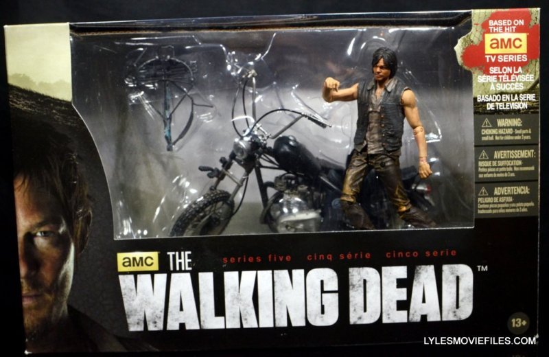 Daryl Dixon Walking Dead deluxe figure - in package