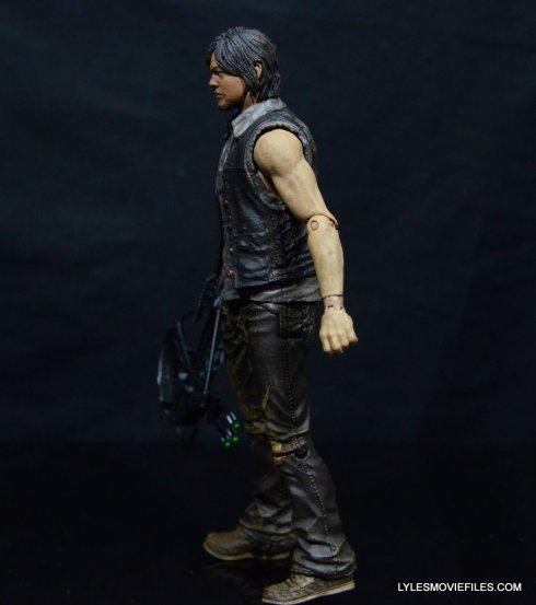 Daryl Dixon Walking Dead deluxe figure -left side