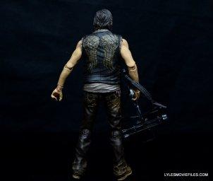 Daryl Dixon Walking Dead deluxe figure -rear wide
