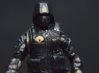 GI Joe Gung-Ho vs Cobra Shadow Guard -CSG front detail