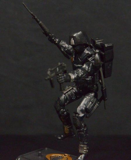 GI Joe Gung-Ho vs Cobra Shadow Guard -CSG ready for attack
