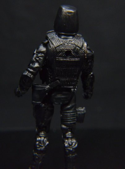 GI Joe Gung-Ho vs Cobra Shadow Guard -CSG rear detail