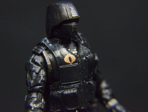 GI Joe Gung-Ho vs Cobra Shadow Guard -CSG right detail