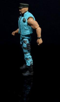 GI Joe Gung-Ho vs Cobra Shadow Guard -Gung-Ho left detail