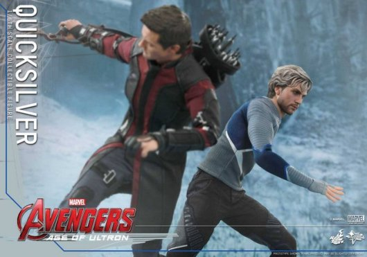 Hot Toys Quicksilver figure -racing by Hawkeye