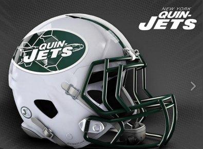 JustKozy MARVEL NFL Helmets - New York Quinjets