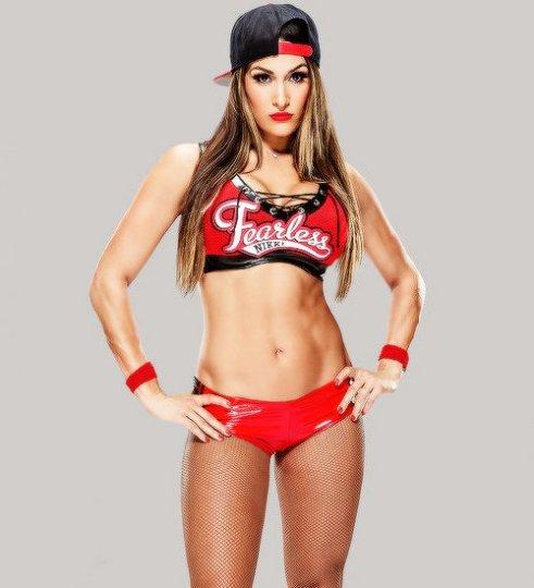 Nikki Bella Fearless attire likeness