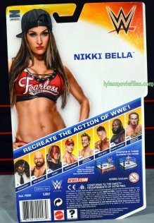 Nikki Bella Mattel WWE figure - back package
