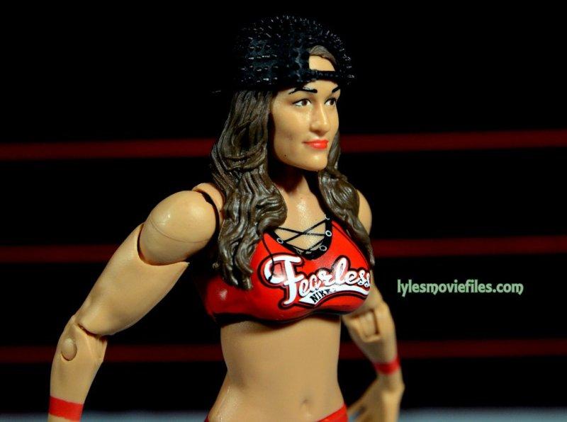 Nikki Bella Mattel WWE figure - profile pic