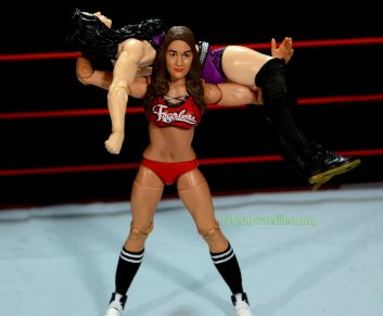 Nikki Bella Mattel WWE figure - rack attack on Paige
