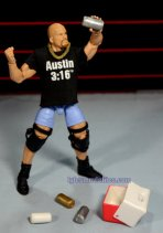Stone Cold Steve Austin Hall of Fame -drinking beer