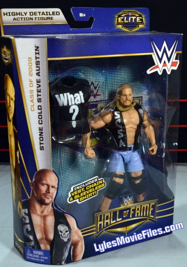 Stone Cold Steve Austin Hall of Fame - front package