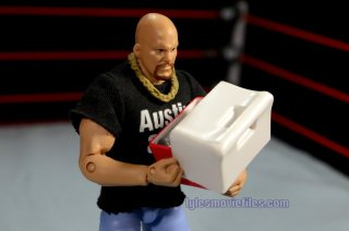 Stone Cold Steve Austin Hall of Fame -holding a cooler
