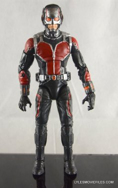 Ant-Man Marvel Legends figure review - front detail