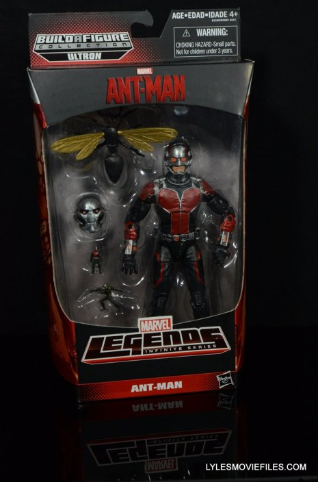 Ant-Man Marvel Legends figure review - front package