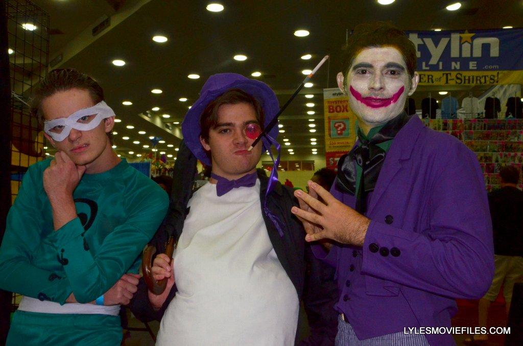 Baltimore Comic Con 2015 Cosplay 66 Batman Riddler Penguin And