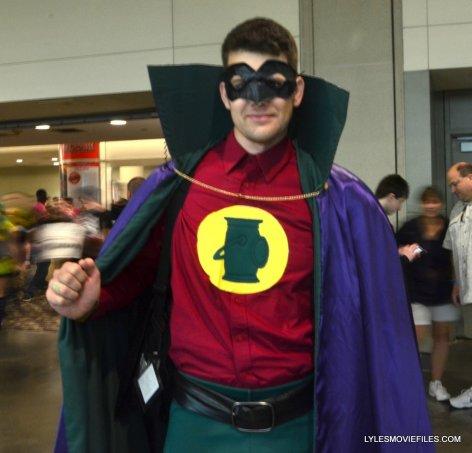 Baltimore Comic Con 2015 cosplay - Alan Scott Green Lantern