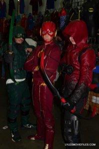Baltimore Comic Con 2015 cosplay - Arrow, Flash and Arsenal