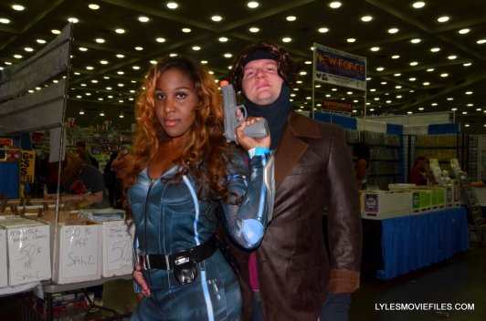 Baltimore Comic Con 2015 cosplay -Black Widow and Gambit