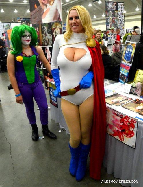 Baltimore Comic Con 2015 cosplay -Cara Nicole as Power Girl