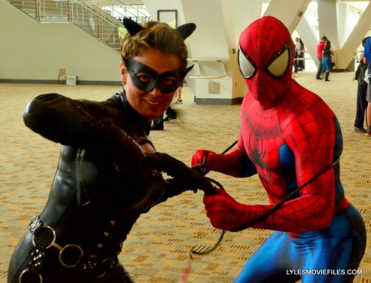 Baltimore Comic Con 2015 cosplay -Catwoman and Spider-Man