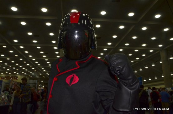 Baltimore Comic Con 2015 cosplay - Cobra Commander