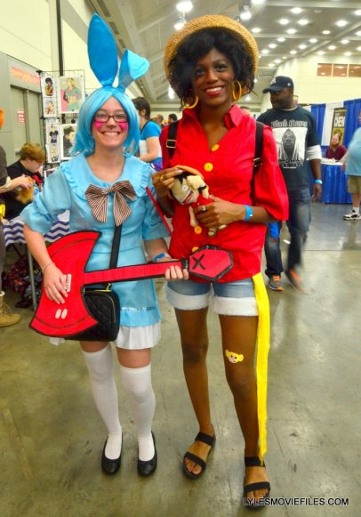 Baltimore Comic Con 2015 cosplay - colorful pair