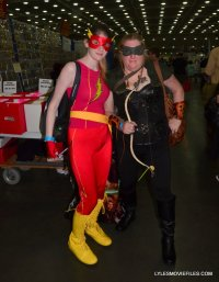 Baltimore Comic Con 2015 cosplay -Flash and Arrow