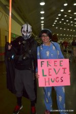 Baltimore Comic Con 2015 cosplay - Free Levi Hugs