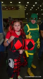 Baltimore Comic Con 2015 cosplay -Harley Quinn and Hydra agent