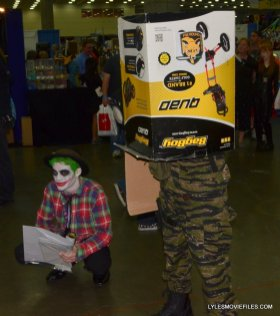Baltimore Comic Con 2015 cosplay -Joker and Solid Snake