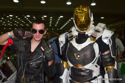 Baltimore Comic Con 2015 cosplay - Mad Max and Starboost Iron Man